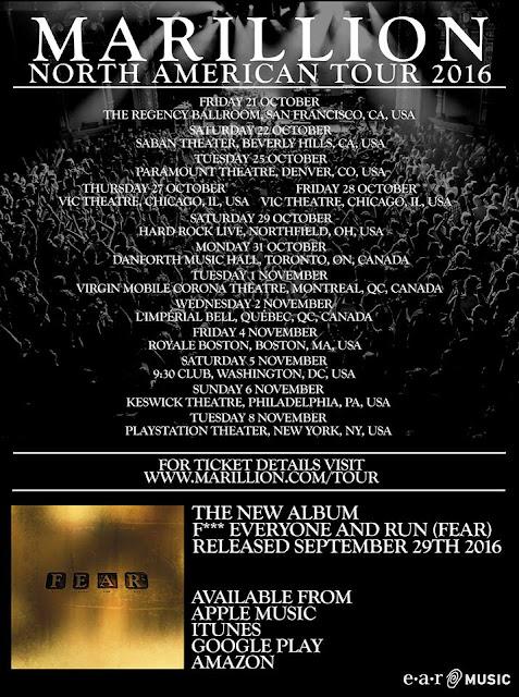 Marillion North American tour dates… got tickets???