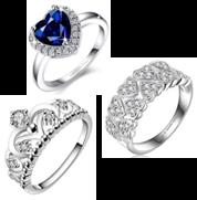 beautiful heart jewelry  from amazon