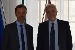 Livorno - Il presidente della Camera di Commercio a Palazzo Rosciano