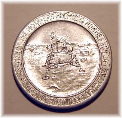 apollo xi commemorative token - photo #43