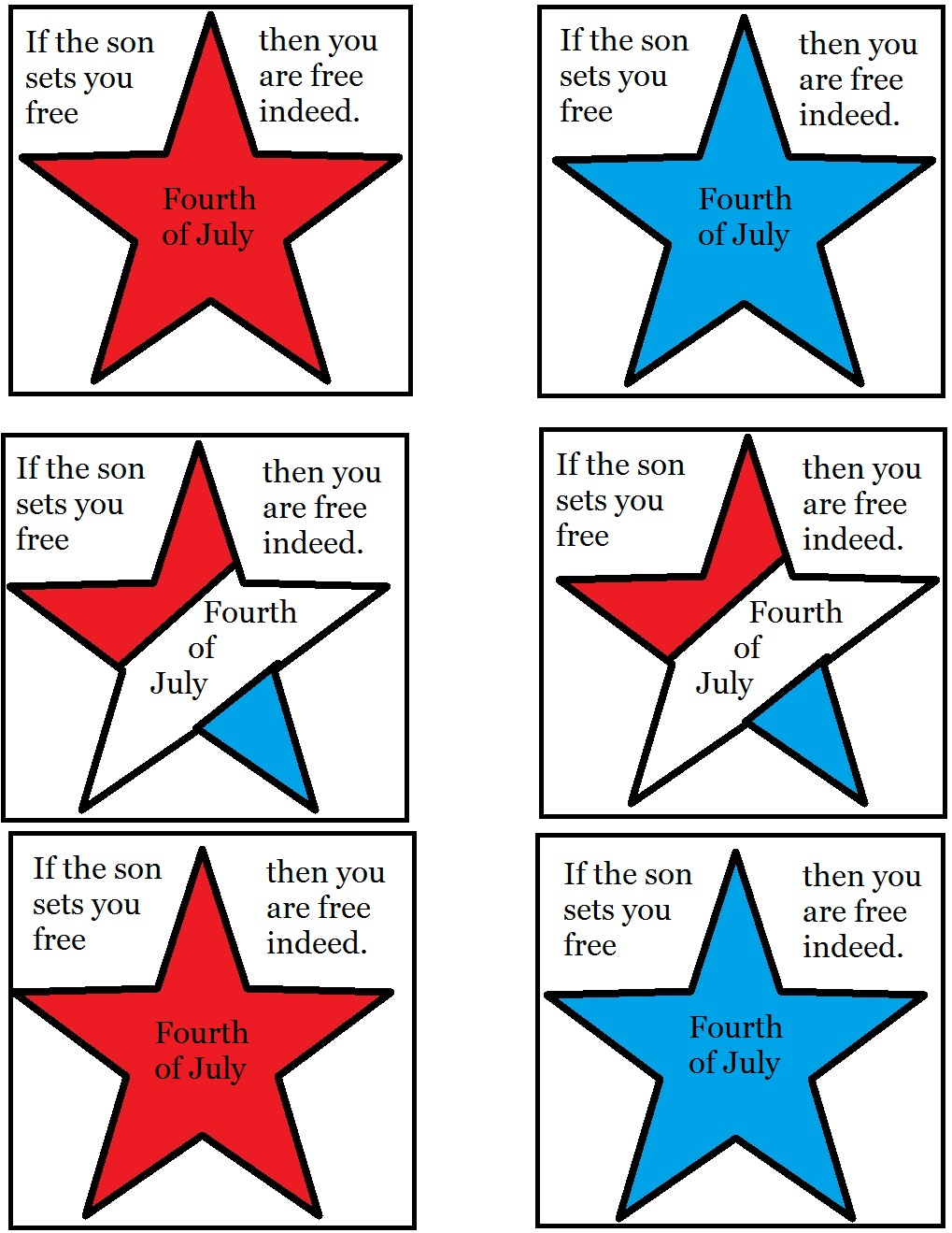 church house collection blog fourth of july sunday lesson