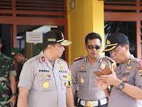 Menjaga Keamanan Pasca Pemilu 2019, Kapolda Lampung bersama Jajaran Melaksanakan Pengecekkan