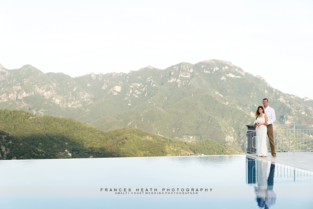 Elopement wedding in Ravello