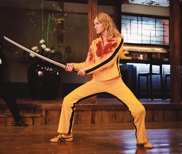 amarelo e preto Bruce Lee