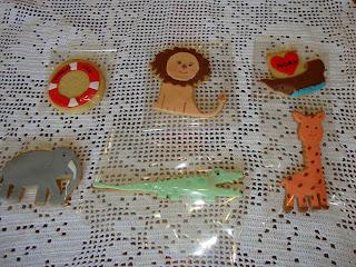 Galletas decoradas animales y barco