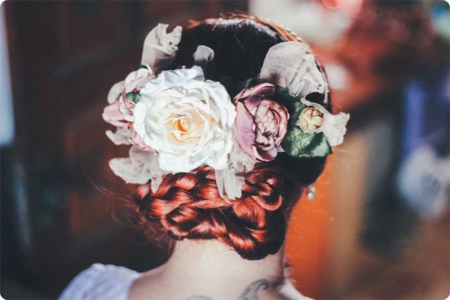 penteado noiva vintage