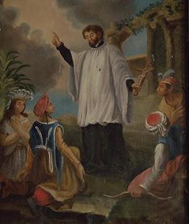 Saint François-Xavier Thérèse, patronne des missions