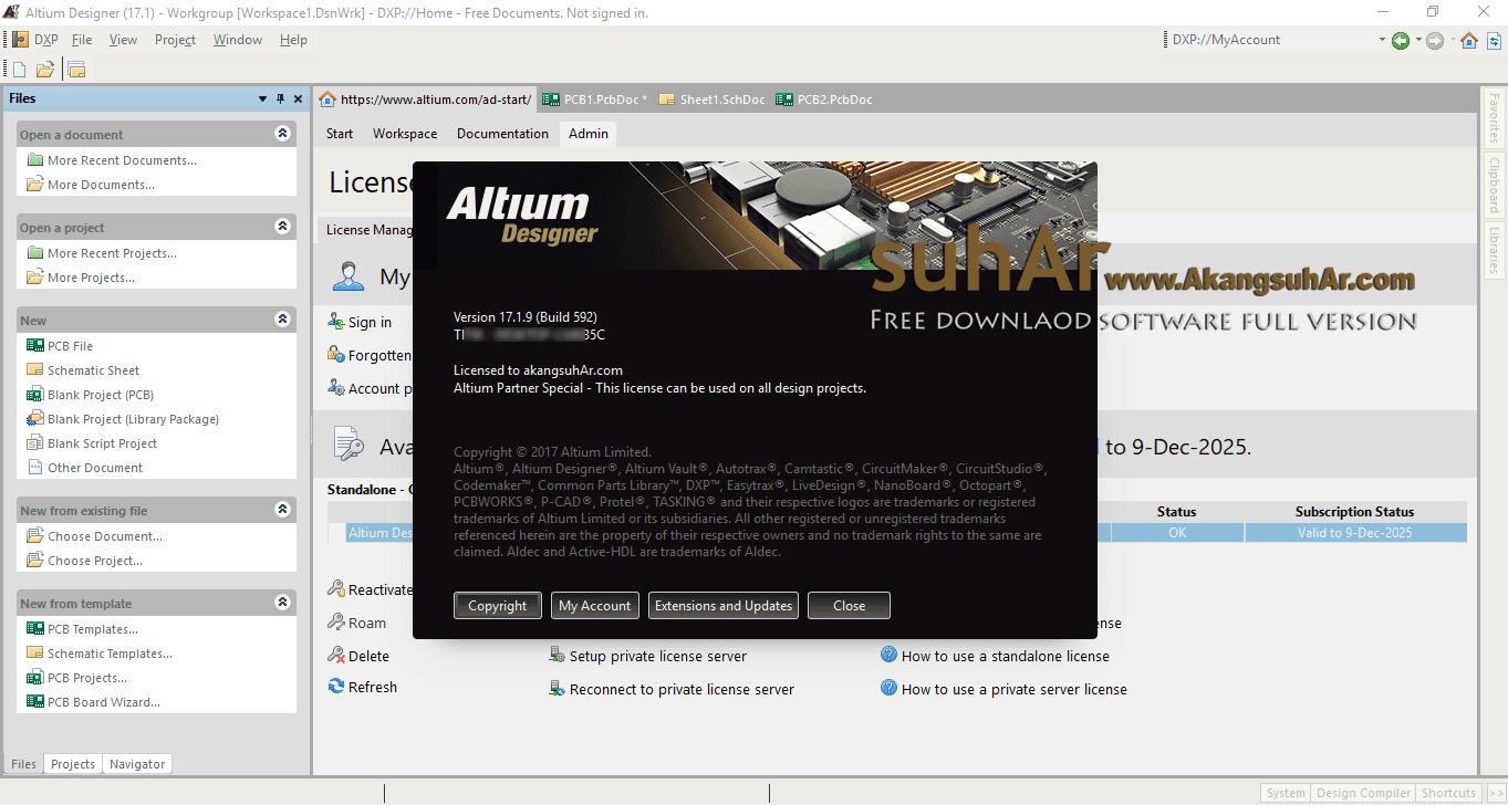 Free Download Altium Designer 17 Full Activation Keygen