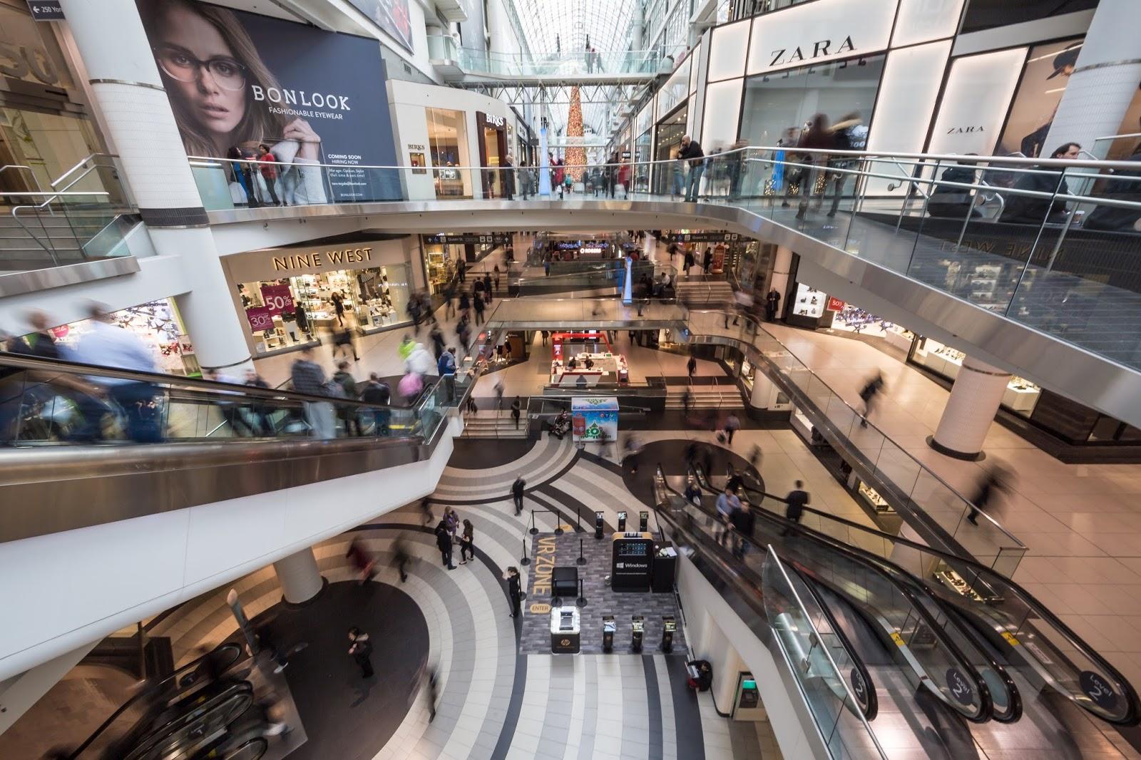 Trung tâm thương mại sang trọng, sầm uất