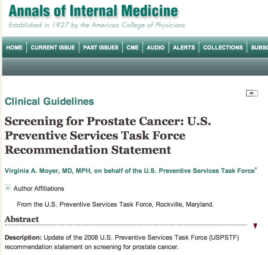 effects of prostate cancer
