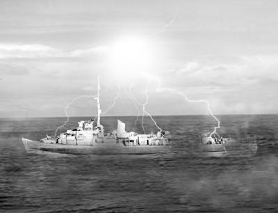 USS Eldridge, ışınlanma deneyi