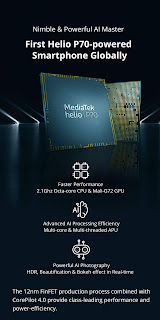 RealMe-U1-MediaTek-helio-P70-Processor