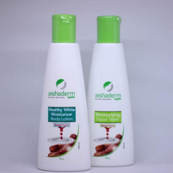 First Impression : Aishaderm Healthy White Moisturizer Body Lotion dan Aishaderm Lightening Day Cream