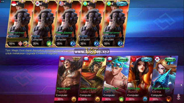 Download Kumpulan Script Bingkai Mobile Legends Gratis