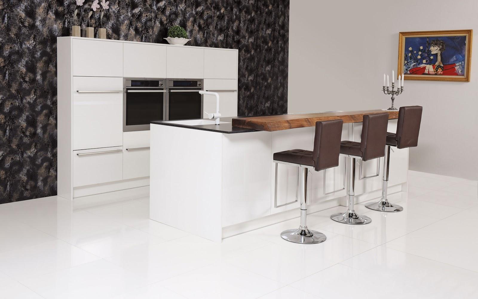 30 ideas de mesas y barras para comer en la cocina cocinas con estilo - Cocina para bar ...