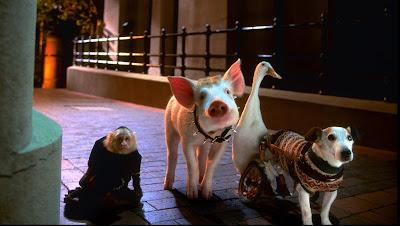 Cena do fime Babe - O Porquinho Atrapalhado Na Cidade  (Divulgação: Studio Universal)