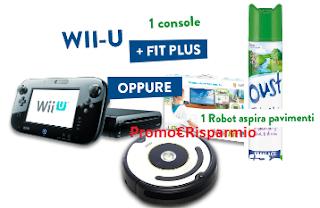 Logo Con Oust vinci 20 IRobot Roomba e 20 Nintendo Wii U