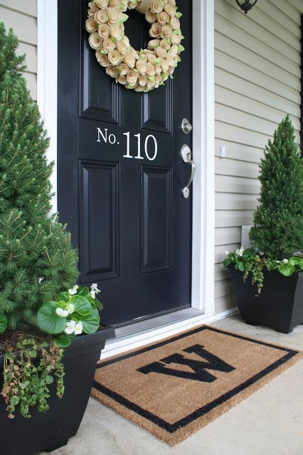 Shelter Curb Appeal Front Door And Porch Updates