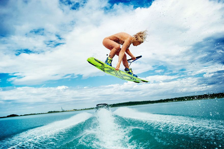 Pro wakeboarder,four-time X Games gold medalist