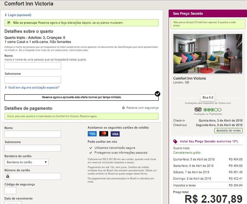 Como reservar hotel sem complicação - Hotéis.com