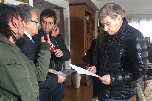 Allanan en Argentina casa del periodista Víctor Hugo Morales