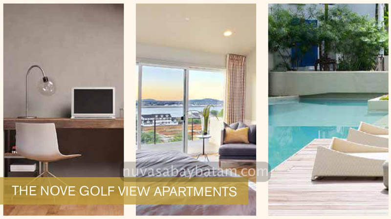 The Nove Golf View Apartment Batam