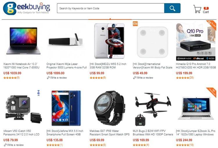 En Güvenilir Çin Alışveriş Siteleri - Geekbuying