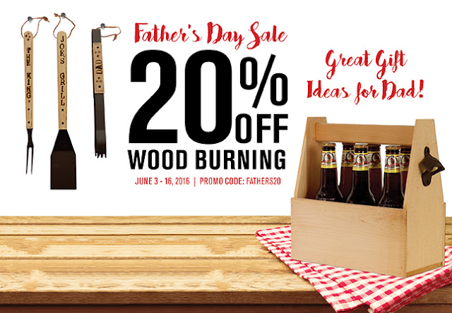 Walnut Hollow Father's Day Sale
