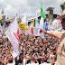 Diberitakan Ditinggal Massa Saat Kampanye, Prabowo Sindir Ada TV Cetak Kebohongan
