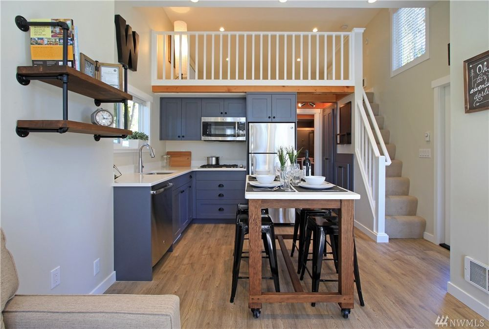 Tiny house town the salish luxe tiny house by wildwood for 4 bedroom tiny house