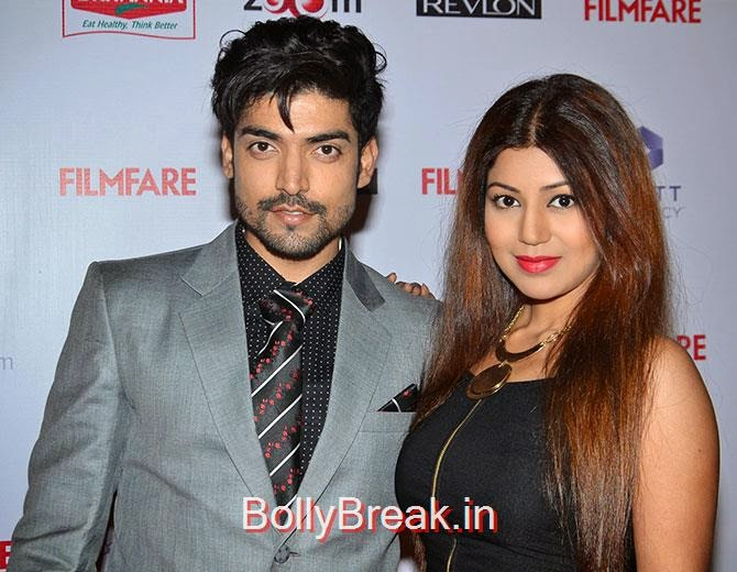 Gurmeet Chaudhary,  Debina Bonnerjee, Filmfare Awards 2015 Red Carpet Pics for Nominations Pre Party