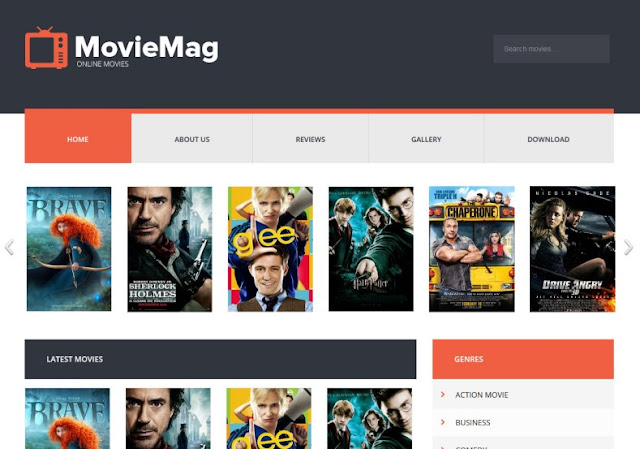 MovieMag Responsive Blogger Template