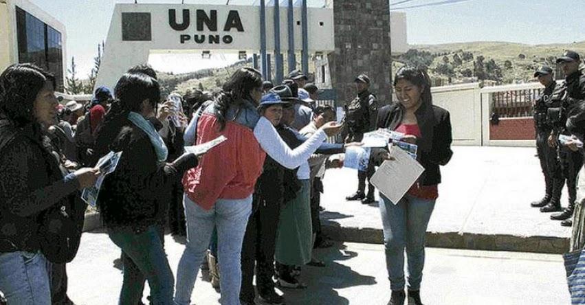 Estafan a más de 200 alumnos de CEPREUNA en la Universidad de Puno