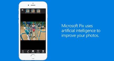تطبيق Microsoft Pix لزيادة جودة كاميرا الآيفون