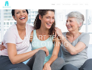 Bloomer Tech Develop Smart Clothes To Improve Women's Heart Health