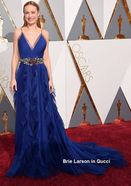 Brie%2BLarson%2Bem%2Bmodelo%2BGucci - Look Óscares 2016