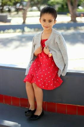 Holidays Ideas: Star Red Dress
