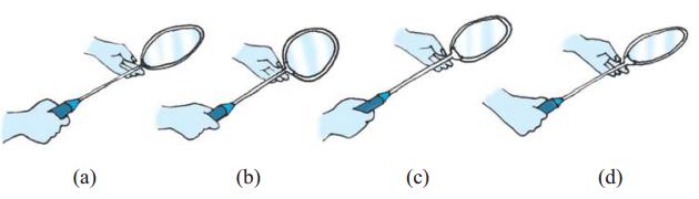 Cara Memegang Raket Bulu Tangkis