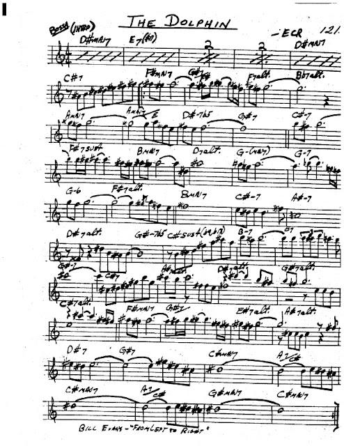 Partitura Saxofón ECR