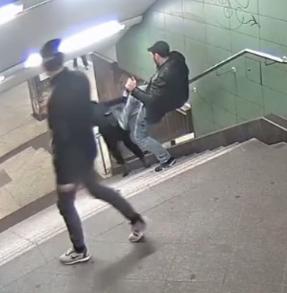 Нападение на женщину в берлинском метро