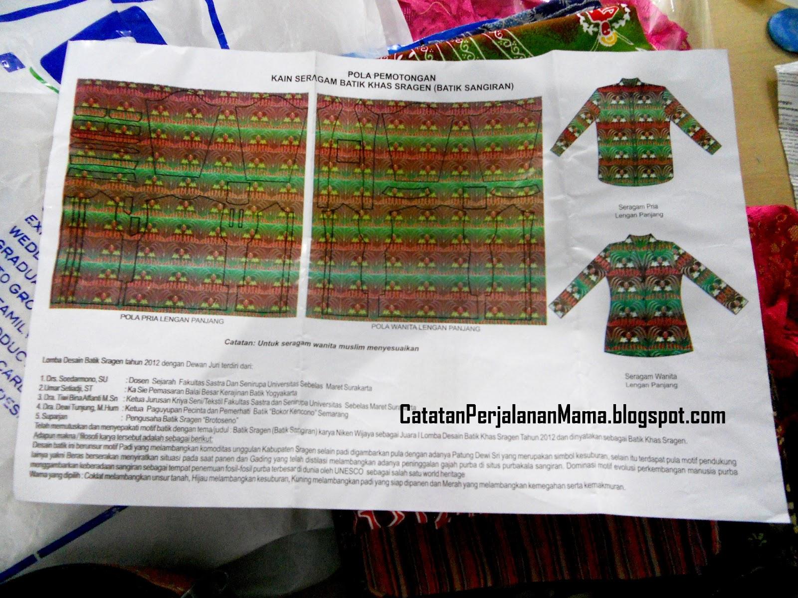 Dukungan pemerintah bagi desain yang penuh simbol lokal ini  di-implementasi-kan dalam pakaian seragam seluruh jajaran pegawai negeri  sipil di Kabupaten ... c9aebd448e