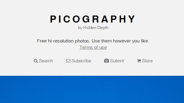 Situs Penyedia Gambar Gratis Picography