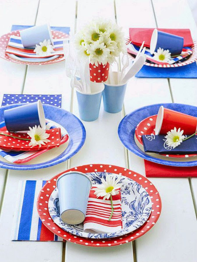 favorite red white and blue tables  sc 1 st  Ciao! Newport Beach & ciao! newport beach: favorite red white and blue tables