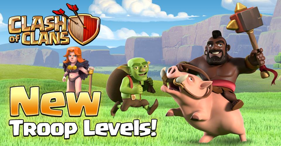 Clash of Clans Sneak Peek 2: Goblin, Hog Rider, and Valkyrie new level