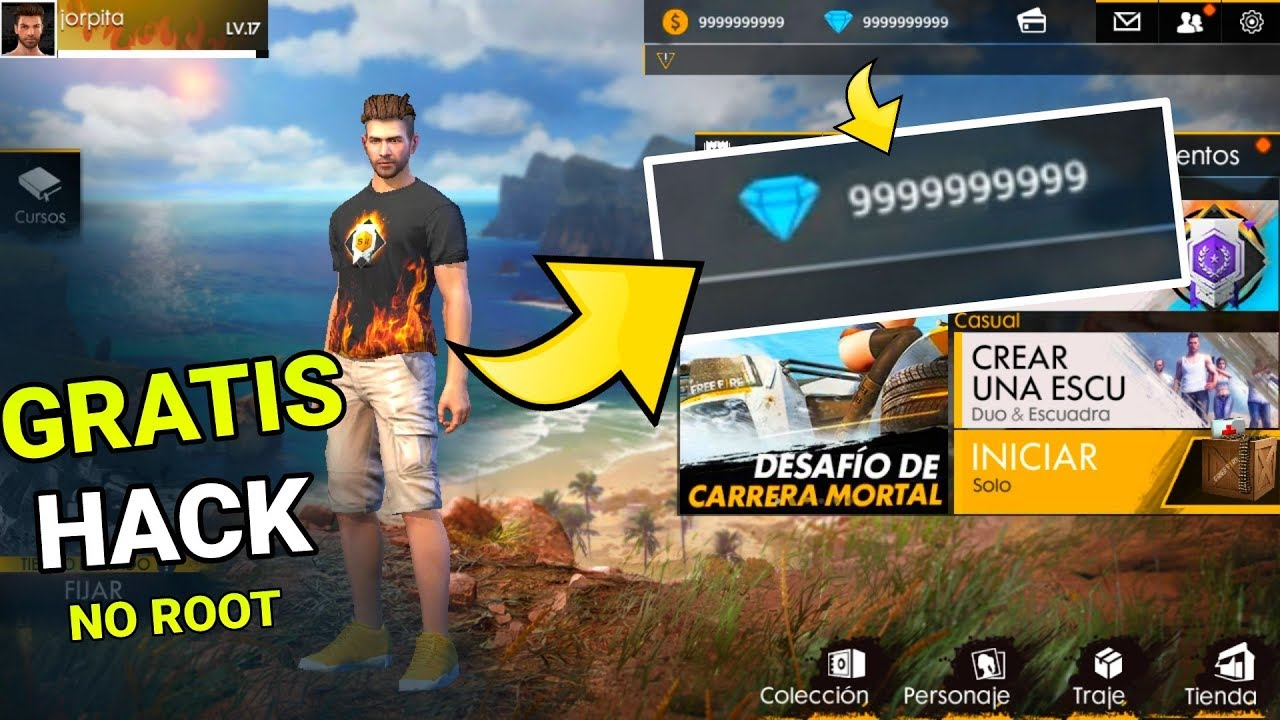 Furion Xyz/Fire Cara Hack Game Free Fire Android Tanpa Root