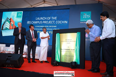 Hon'ble Chief Minister of Kerala, Shri Pinarayi Vijayan launched the proposed fully-owned and managed office campus of IBS Software
