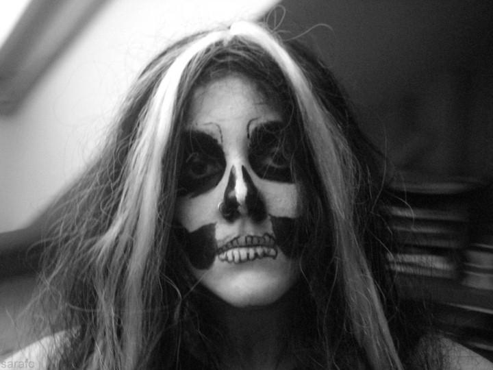 Mademoiselle Mu. Мрачный макияж 2