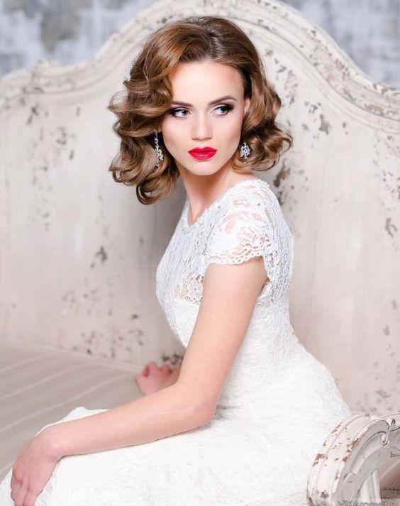 Wonderful Short Wedding Hairstyles Hairstyles Trending