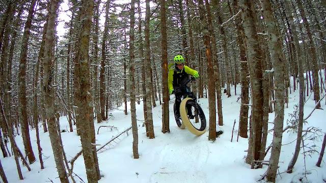 Riding Picture Scenery Fat Bike
