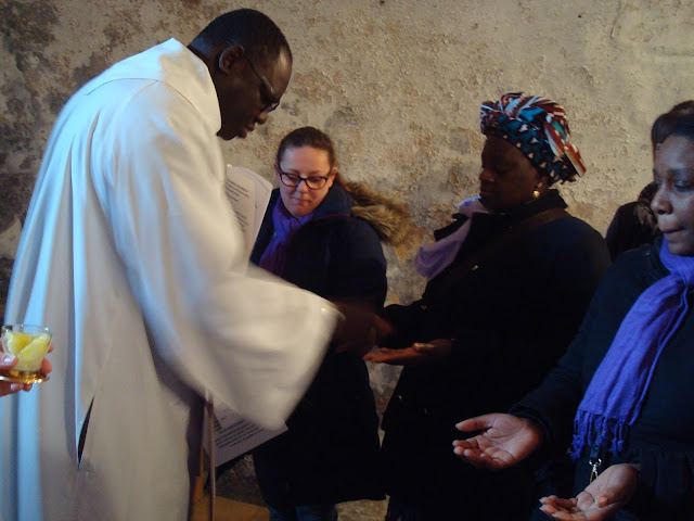 catéchuménat Sens Paron Saint Clément Sénonais Yonne onction huile baptême confirmation eucharistie